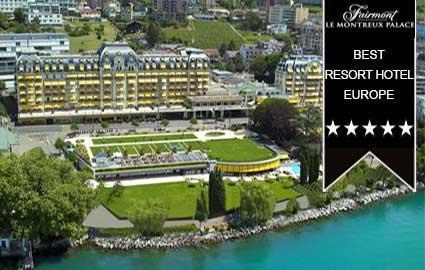 Luxury Escape for 2 at Montreux Palace Hotel