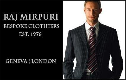 Tailor-made Bespoke Suit by Raj Mirpuri