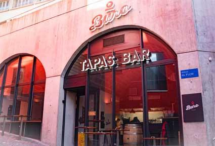 Just opened tapas wines at o buro tapas bar buyclub for O buro lausanne