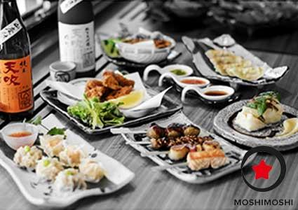 CHF 80 Credit on Sushi at MOSHIMOSHI (Eaux-Vives)