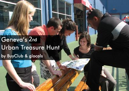 Geneva Treasure Hunt by glocals & BuyClub, May 14 (1 voucher = 1 person)