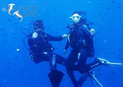 Scuba Diving Class or Certification Course with Atlantis Dive