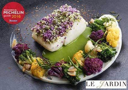 Michelin Guide Recommended: Hotel Richemond's Le Jardin