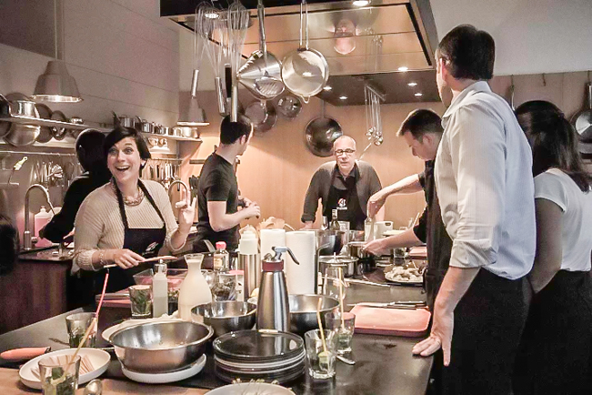 Gourmet Cooking Classes Created by Michelin-Star Chef Serge Labrosse