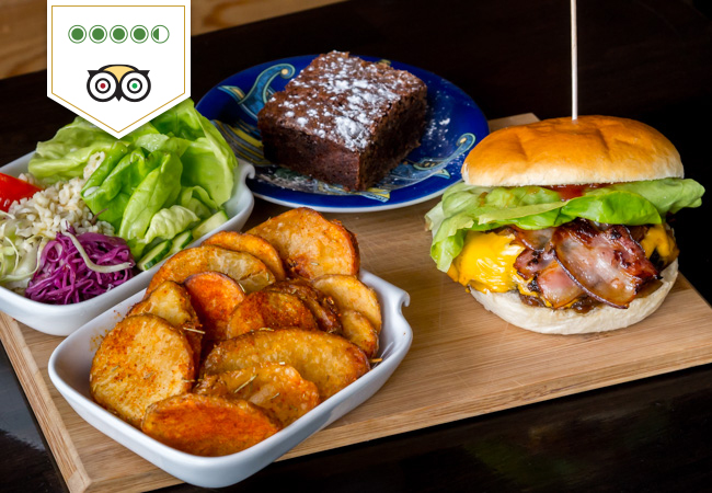 Home-made Burgers & Dessert at The Little Kitchen (Take-away Only)