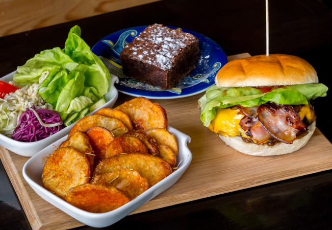 Delicious Home-made Burgers & Dessert at The Little Kitchen