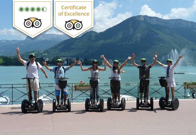 Segway Tour of Annecy for 2 People