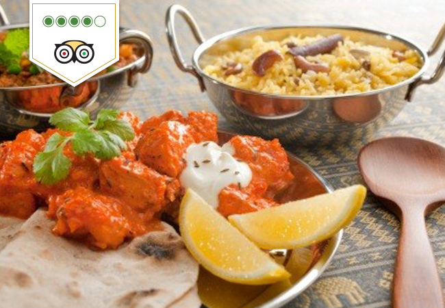 Indian Cuisine at Sajna for 2 or 4 People