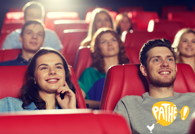 [Valid from Sep 4] 2 Movie Tickets + 1 Large Popcorn at any Pathé Cinema in Switzerland