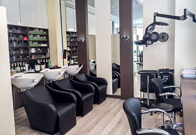Cut, Color or Balayage-Highlights at Athenee Coiffure Hair Salon (Champel)