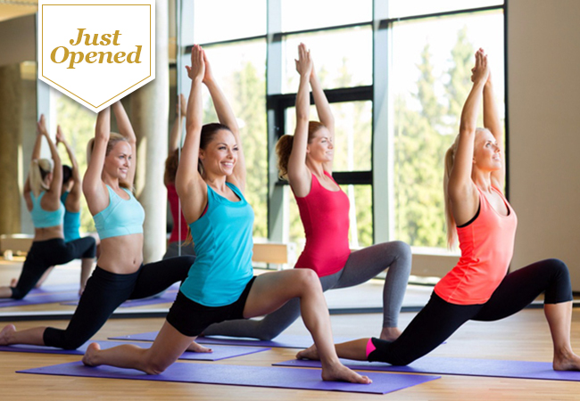 Just Opened: 10 Group Yoga or Fitness Classes at Studio Soham