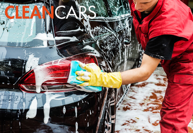Professional Car Wash, Inside & Out, Done Completely By Hand at Clean Cars. 