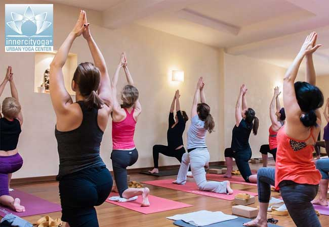 30 Extra Vouchers Added 11 Yoga Classes At INNERCITYOGA Genevas Premier Center With Beautiful
