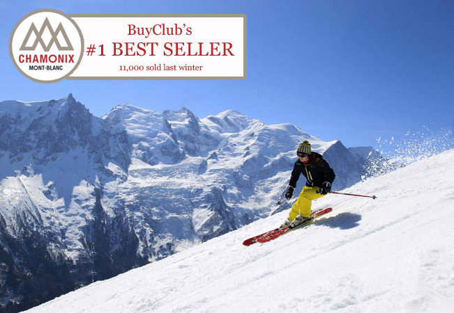 BEST SELLER: Chamonix ski passes (delivery by March 17 via post)
