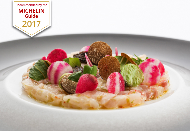 Michelin guide 2017 dinner at hotel richemond chf 160 for Richemond le jardin