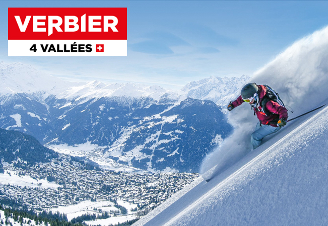 VERBIER Daily Ski Passes Valid 7/7 All Season