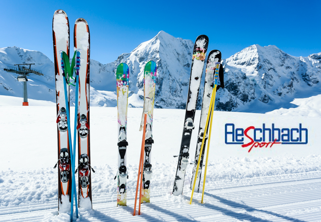 Ski Rentals at Aeschbach: CHF 100 Credit