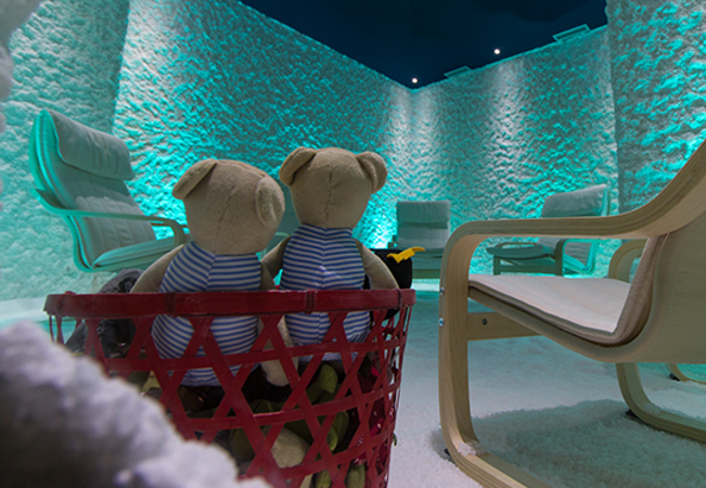 """""""Like breathing fresh ocean air"""" - Huffington Post Therapeutic Salt Room Sessions at La Mer En Ville: Geneva's 1st Halotherapy Center2 or 5 private sessions in a salt room for numerous health benefits     Photo"""