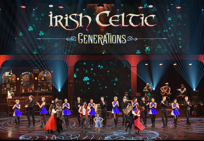 """Irish Celtic Generations"" Dance & Music Spectacle, Dec 18 at Arena"