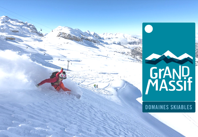 Le Grand Massif Daily Ski Pass Incl Flaine, Carroz, Morillon, Samoëns & Sixt (Code to use Online)