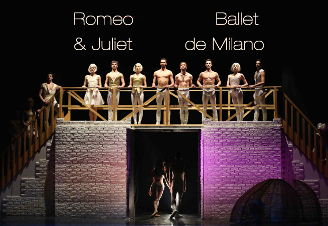 Shakespeare's Romeo & Juliet Ballet Performed by Ballet de Milano, Feb 2