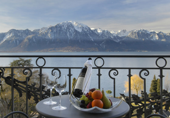 Winner: 'Best Luxury Hotel in Switzerland 2017-2018'  Luxury Escape at the 5-Star Fairmont Le Montreux Palace Hotellncl 1 Night for 2 People in Lake View Room, Breakfast, 15% Off Spa Treatments  Photo