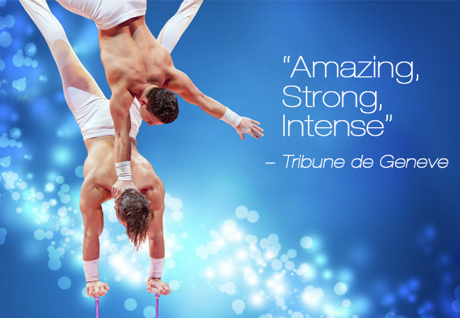 'Place au Spectacle!' Contemporary Circus