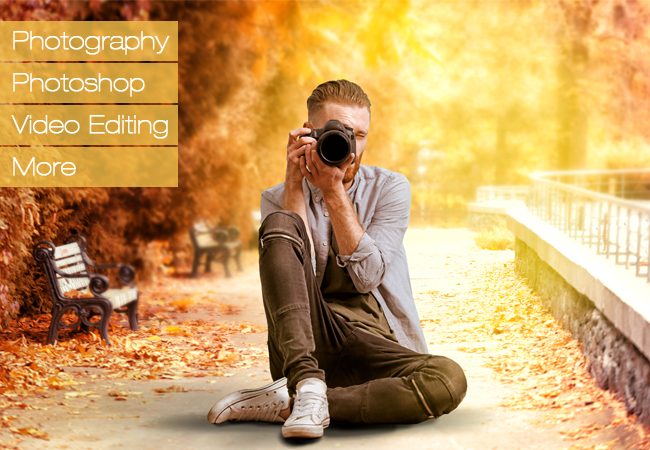 Interactive Online Courses in Photography / Photoshop / Video from Live Photo Academy    Photography Smartphone Photography Photoshop Lightroom Video   Photo