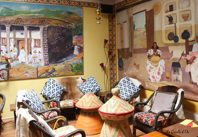 Tripadvisor Certificate of Excellence Winner  Forget About Forks: Authentic Eritrean & Ethiopian Cuisine at La Gazelle d'Or  Incl 5-dish menu + wine + coffee for 2 people  Photo