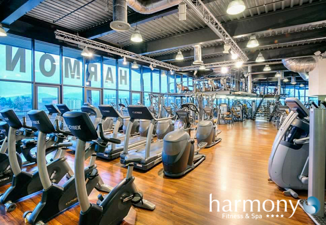 Harmony Sport & Fitness Clubs: Membership or Daily Entries