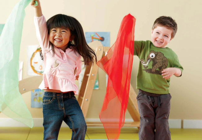 4 x 'Play&Learn' Classes at Gymboree (Age 0-4)
