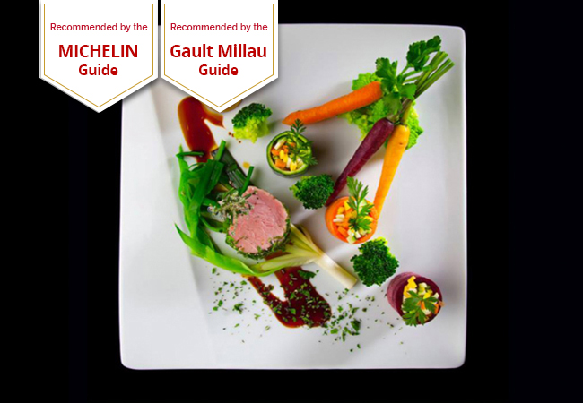 Michelin Guide & GaultMillau Recommended 