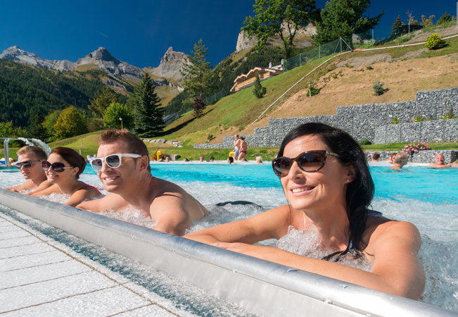 Valid 7/7   Bains D'Ovronnaz Thermal Baths & Spa Resort: 2 Daily Passes with Option for Over-night Stay at the Resort's Award-Winning Hotel  Photo