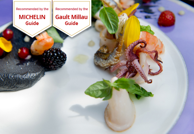 Michelin & GaultMillau Recommended: Auberge d'Hermance Restaurant