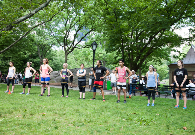 Outdoor Bootcamp Fitness Classes at Parc Bastions (in English) with Master-Trainer 'WESTROK' Coleman: Former Equinox NY Coach