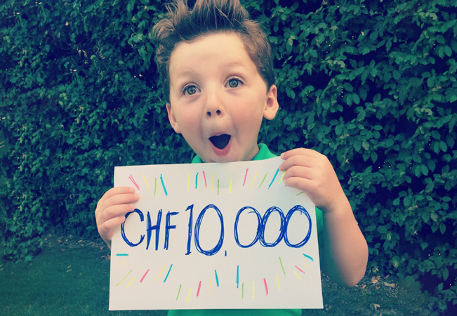 We Did It! CHF 10'000 Raised!