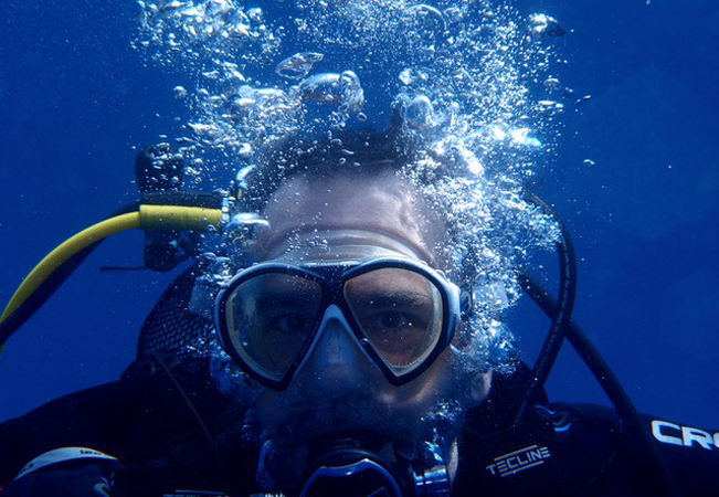 "Scuba Diving: Intro Class or ""Open Water Diver"" Course"