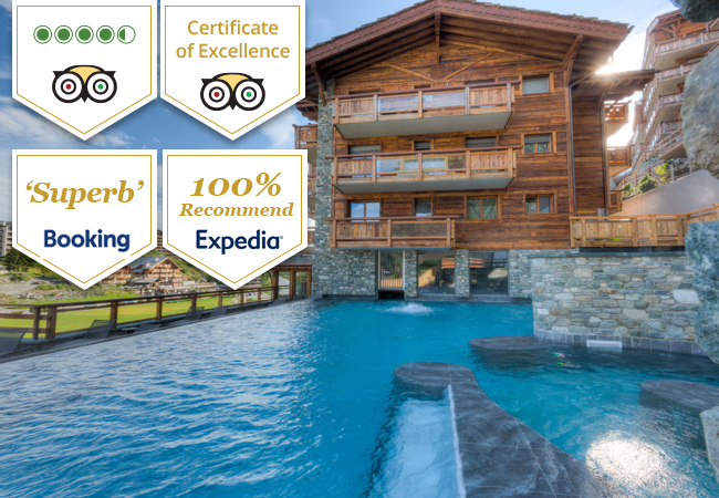 "4.5 Stars on Tripadvisor, ""Superb"" on Booking