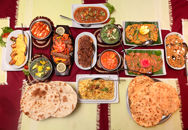 4 Stars on TripAdvisor Authentic Indian & Bengali Cuisine at Sajna   Valid for 2 or 4 people Each person chooses any starter + any main + rice + coffee      Photo