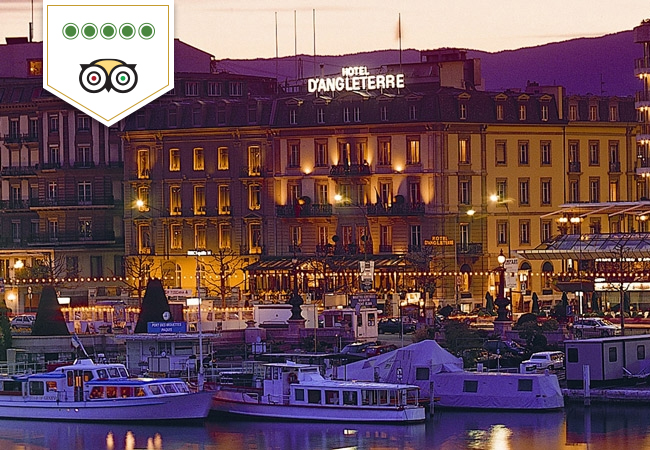 1 Night for 2 People at Hotel D'Angleterre Geneva
