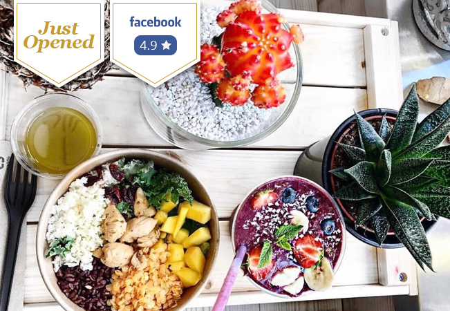 Just Opened:  Superfood Cuisine & Salads at Green Gorilla Café