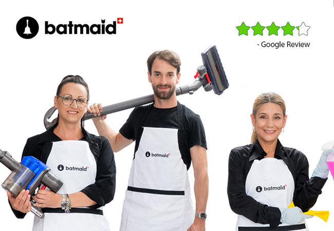 Professional House Cleaning (Legal & Insured) by Batmaid
