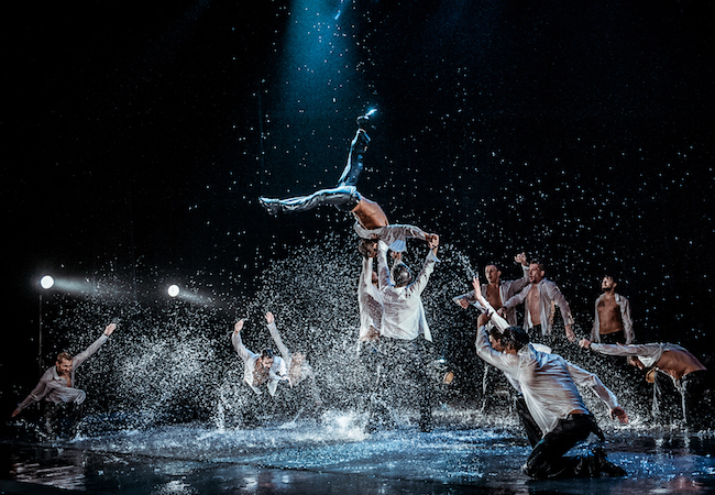 """Dancing in the Rain"" All-male Spectacle, Dec 14 @ Theatre du Leman"