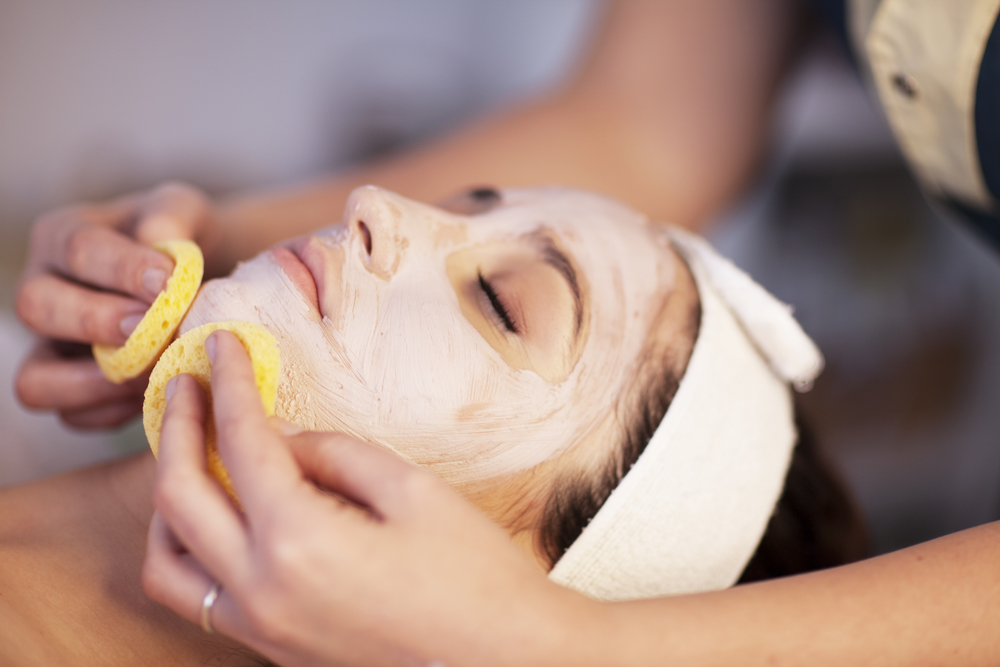 The word facial massage for oily skin