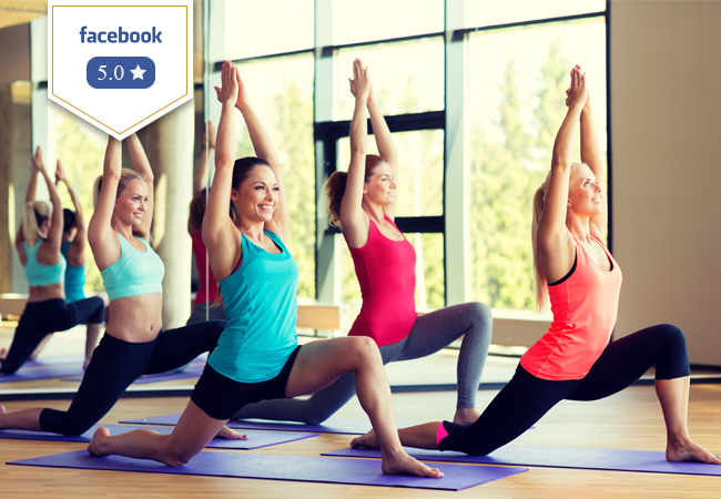 5 Stars on Facebook 10 Group Pilates and/or Yoga Classes at the Beautiful Swiss Pilates & Yoga Studio (Rive)   Valid 12 months 25+ classes / week   Photo