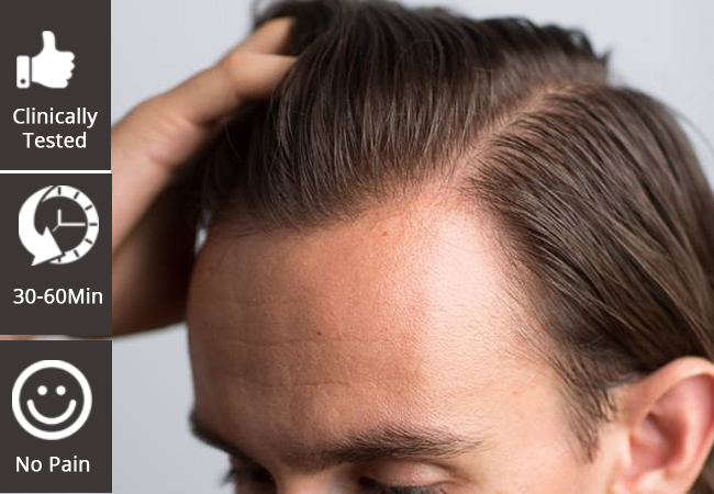 """""""Good News for Anyone With Thinning Hair"""" - Allure  Breakthrough PRP Hair Loss  Treatment for Men & Women at The Geneva Clinic   Technique supported by clinical studies Choose 1 or 3 sessions (1h each)   Or check our offer for PRP 'Vampire Facial'  Photo"""