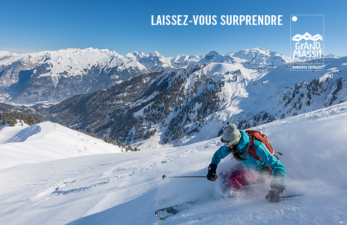 Grand Massif Full-Day Ski Pass Including: