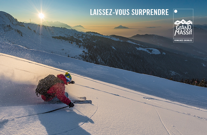 Grand Massif Daily Ski Pass incl ​Flaine, Carroz, Morillon, Samoëns & Sixt (Online Code)