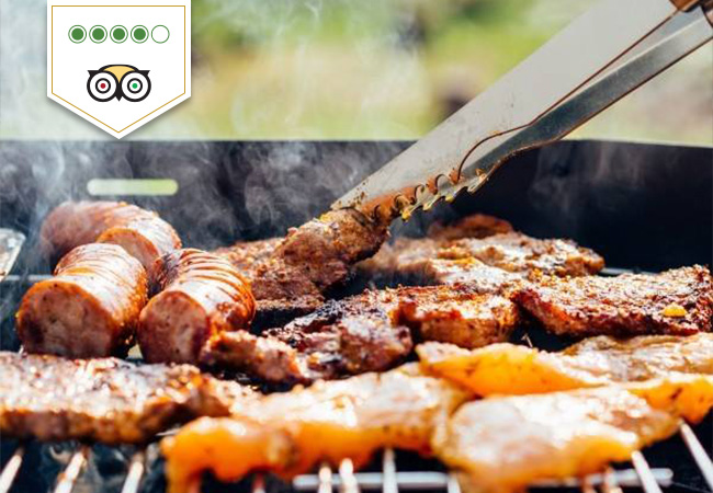 Grilled Charbonnade & More Meat Specials at Auberge de Compesières: CHF 120 Credit