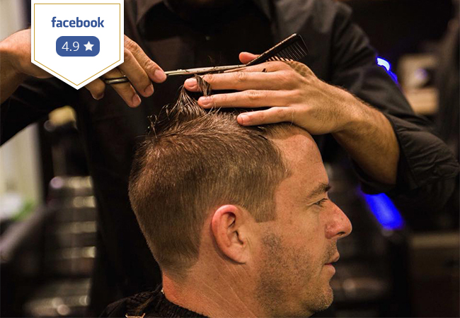 For Men Exclusively  Haircut + Shave (or Beard Trim) at The BarbershopLocations:   Geneva Plainpalais + Nations Morges Nyon Vesenaz   Photo
